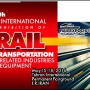 شرکت در نمایشگاه بینالمللی حمل و نقل ریلی صنایع، تجهیزات و خدمات وابسته