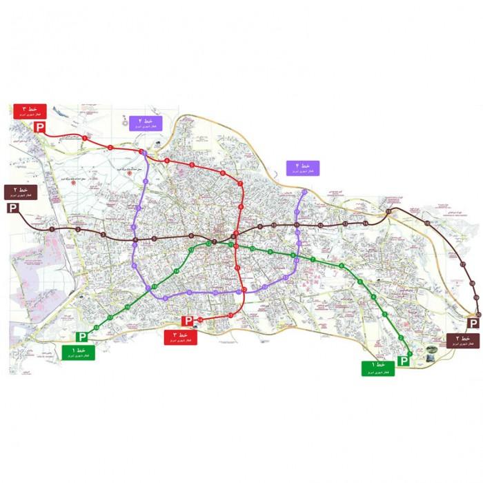 طراحي و نظارت بر خطوط و ايستگاه هاي مترو مهندسین مشاور پژوهش